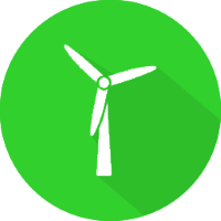 green hosting wind power