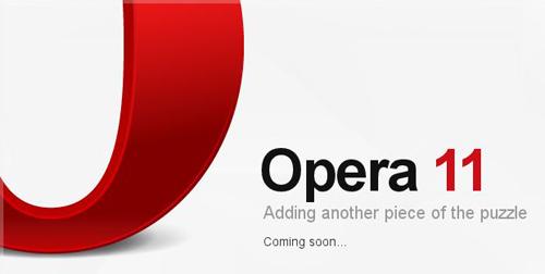 عملاق التصفح العالمى Opera 11.50