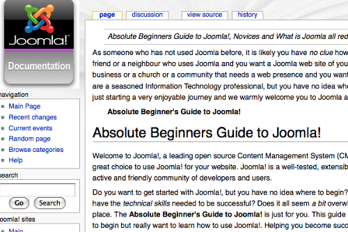 Absolute Beginners Guide to Joomla