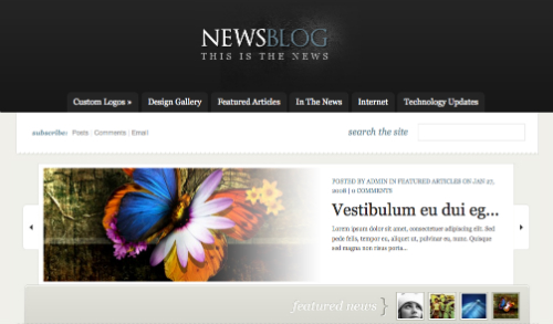eNews Theme