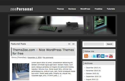 ZeePersonal Theme
