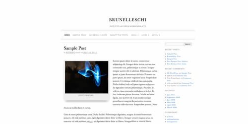 Brunelleschi Theme