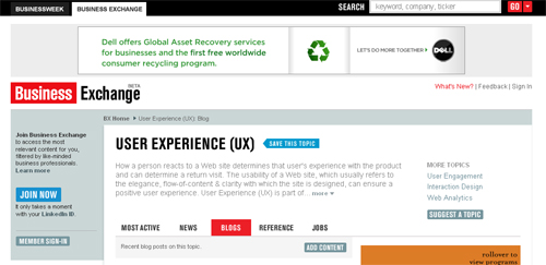 UserExperience(UX)Blog