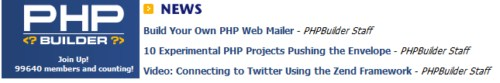 PHP Builder