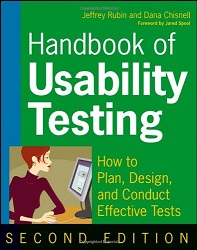Handbook of Usability Testing How to Plan Design and Conduct Effective Tests