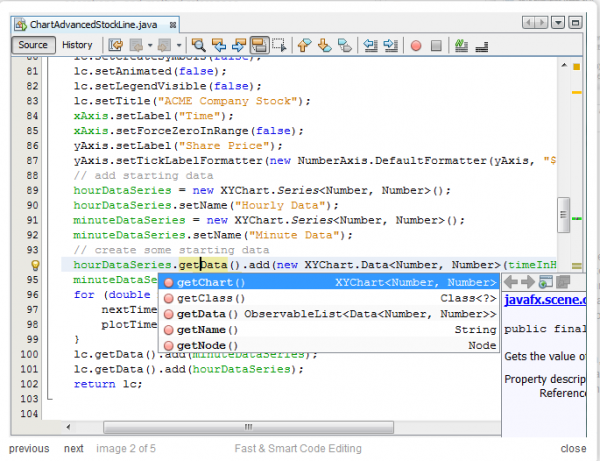 NetBeans IDE Screenshot